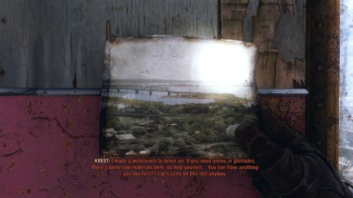 Location: You meet Krest during the story mode - Diaries and postcards in Winter and The Volga - Metro Exodus Collectibles - Diaries and postcards - Metro Exodus Guide