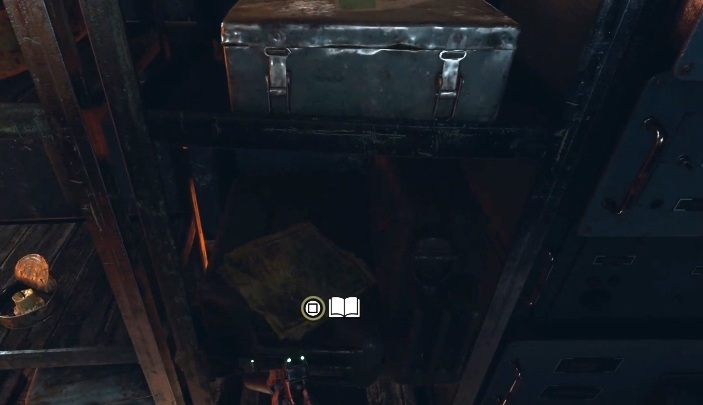 Location: The screen above shows the location of an abandoned train car - Diaries and postcards in Winter and The Volga - Metro Exodus Collectibles - Diaries and postcards - Metro Exodus Guide