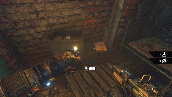 Location: There is a locked room in the dungeons - Diaries and postcards in Winter and The Volga - Metro Exodus Collectibles - Diaries and postcards - Metro Exodus Guide