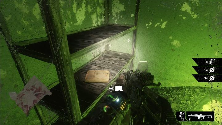 Location: This diary is in radioactive tunnels in the southern part of the map - Diaries and postcards in Winter and The Volga - Metro Exodus Collectibles - Diaries and postcards - Metro Exodus Guide