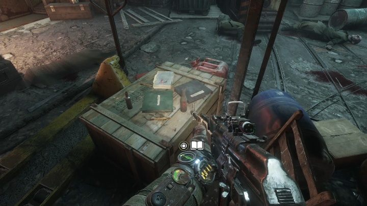 Location: The diary is lying on the chest, the one with a few books on it - Diaries and postcards in Spring and Yamantau - Metro Exodus Collectibles - Diaries and postcards - Metro Exodus Guide