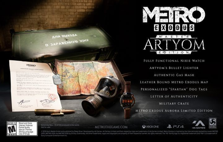 Priced at - $59 - Metro Exodus Guide