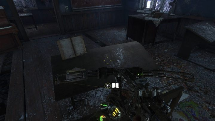 Location: There is a building behind the statue, on the right - Diaries and postcards in Taiga - Metro Exodus Collectibles - Diaries and postcards - Metro Exodus Guide