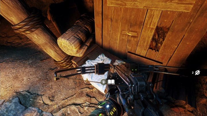 Location: The diary lies on the wooden chest inside the cave - Diaries and postcards in Taiga - Metro Exodus Collectibles - Diaries and postcards - Metro Exodus Guide