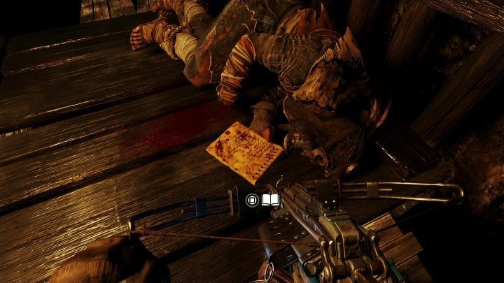 Location: This diary lies near the corpse inside the tunnel - Diaries and postcards in Taiga - Metro Exodus Collectibles - Diaries and postcards - Metro Exodus Guide