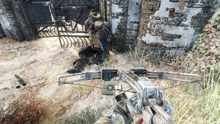 Location: There is a corpse near the big gate - Diaries and postcards in Taiga - Metro Exodus Collectibles - Diaries and postcards - Metro Exodus Guide