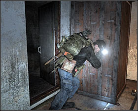 You may proceed to the next section of the room - Walkthrough - Riga* - Chapter 2 - Metro 2033 - Game Guide and Walkthrough