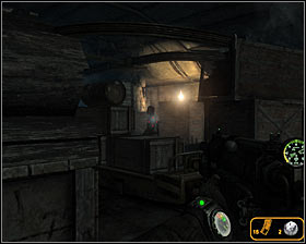 Enter the next room carefully and make sure that you're still not using a flashlight - Walkthrough - Lost Tunnel - Chapter 2 - Metro 2033 - Game Guide and Walkthrough