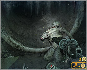 Walkthrough: You should act quickly as soon as this mission has started, because you won't have much time to collect items from this section of the catacombs - Walkthrough - Lost Catacombs - Chapter 2 - Metro 2033 - Game Guide and Walkthrough