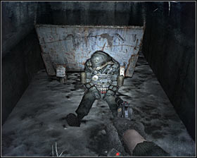 Start off by exploring a small alley found to your right #1 - Walkthrough - Dead City 2 - Chapter 2 - Metro 2033 - Game Guide and Walkthrough