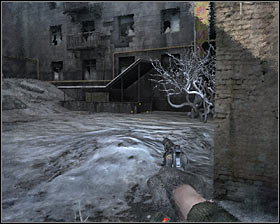 You may start following Bourbon #1, however after you've both reached a new junction proceed alone to your right #2 - Walkthrough - Dead City 2 - Chapter 2 - Metro 2033 - Game Guide and Walkthrough