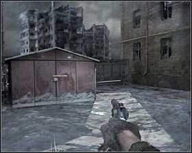 Rejoin with your teammate again and proceed towards the stairs #1 - Walkthrough - Dead City 2 - Chapter 2 - Metro 2033 - Game Guide and Walkthrough