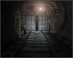 Walkthrough: Ignore the fact that your weapons are holstered, because you won't encounter any monsters here - Walkthrough - Armory - Chapter 3 - Metro 2033 - Game Guide and Walkthrough