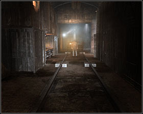 You must now choose the only available passageway leading to the next area of the map #1 - Walkthrough - Armory - Chapter 3 - Metro 2033 - Game Guide and Walkthrough