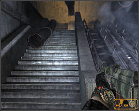 Keep fighting until you're the only standing and then explore the central area of the campsite - Walkthrough - Black Station* - Chapter 4 - Metro 2033 - Game Guide and Walkthrough