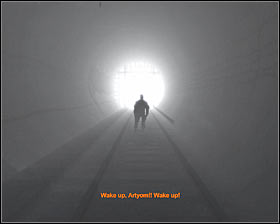 Walkthrough: You'll begin this mission on board of a new carriage, however you'll only be allowed to look around - Walkthrough - Dark Star* - Chapter 6 - Metro 2033 - Game Guide and Walkthrough