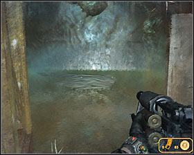 Walkthrough: Wait until the elevator has reached its destination and don't forget to wear a gas mask #1 - Walkthrough - Biomass - Chapter 6 - Metro 2033 - Game Guide and Walkthrough