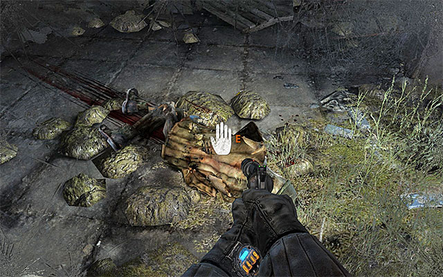 Examine the corpse that Pavel should stop over, to find some ammo and another filter - Follow Pavel to the Theater Station - Chapter 8: Echoes - Metro: Last Light - Game Guide and Walkthrough