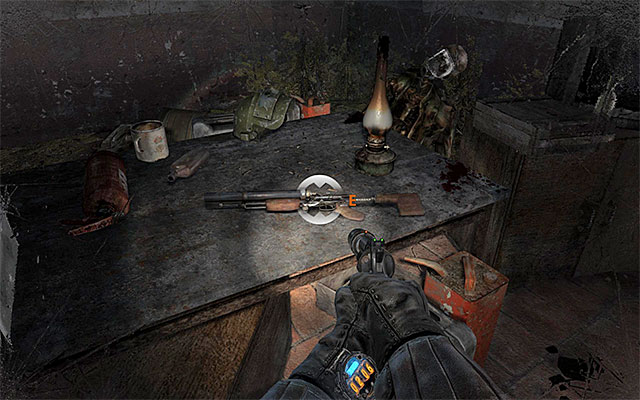 Stop after you reach a big staircase, In accordance with Pavel's suggestions, it is a good idea to examine several new rooms to the right - Follow Pavel to the Theater Station - Chapter 8: Echoes - Metro: Last Light - Game Guide and Walkthrough
