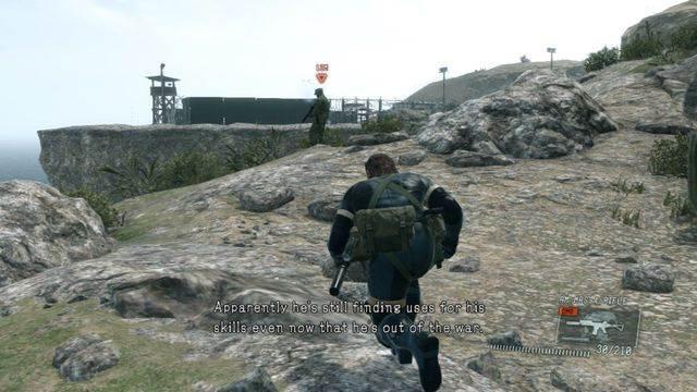 Livrar-se da guarda sobre a falésia - eliminar a ameaça Renegade - Ops laterais e Ops extra - Metal Gear Solid V: Zeros terra - Guia do Jogo e Passo a passo