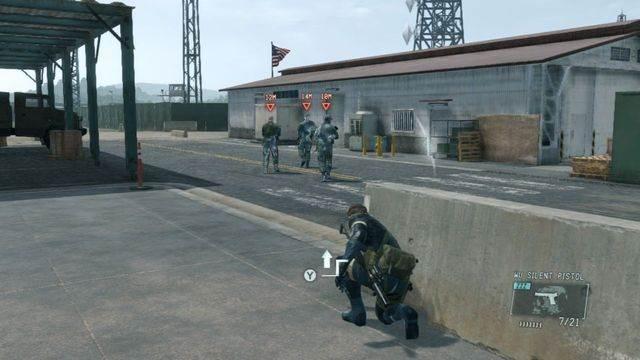 Alvo número 1 - eliminar a ameaça Renegade - Ops laterais e Ops extra - Metal Gear Solid V: Zeros terra - Guia do Jogo e Passo a passo