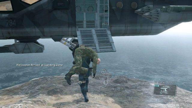 Leva-o para o helicóptero - eliminar a ameaça Renegade - Ops laterais e Ops extra - Metal Gear Solid V: Zeros terra - Guia do Jogo e Passo a passo