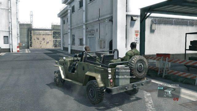 Use um veículo para fazê-lo mais rápido - eliminar a ameaça Renegade - Ops laterais e Ops extra - Metal Gear Solid V: Zeros terra - Guia do Jogo e Passo a passo