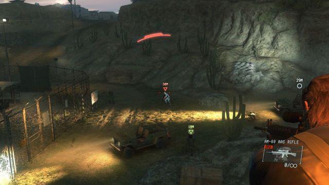 Cubra o seu alvo - Intel Resgate operativo - Ops laterais e Ops Extra - Metal Gear Solid: V Zeroes terra - Guia de jogo e passo a passo