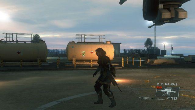 Faça o seu caminho para o alvo e cobri-lo - Intel Resgate operativo - Ops laterais e Ops Extra - Metal Gear Solid: V Zeroes Ground - Guia do Jogo e Passo a passo