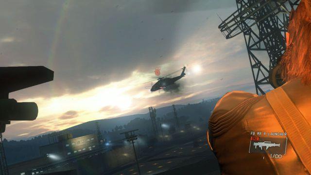 Anote o helicóptero inimigo - Intel Resgate operativo - Ops laterais e Ops extra - Metal Gear Solid V: Zeros terra - Guia do Jogo e Passo a passo