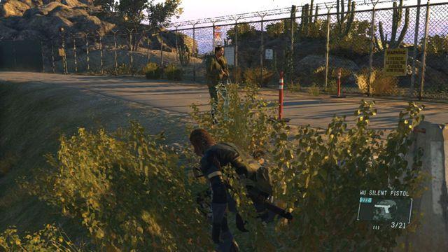 Livrar-se do segundo guarda - Classificados Intel Aquisição - Ops laterais e Ops extra - Metal Gear Solid V: Zeros terra - Guia do Jogo e Passo a passo