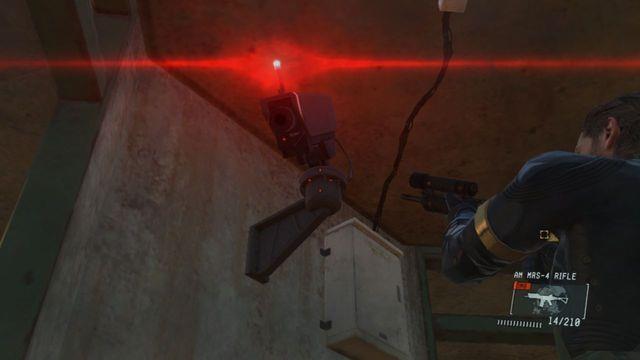 Destrua a câmera - Classificados Intel Aquisição - Ops laterais e Ops extra - Metal Gear Solid V: Zeros terra - Guia do Jogo e Passo a passo