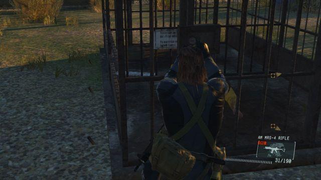 Abra as células para completar a tarefa adicional - Classificada Intel Aquisição - Ops laterais e Ops extra - Metal Gear Solid V: Zeros terra - Guia do Jogo e Passo a passo