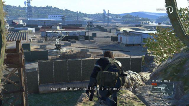 Destrua os canhões AA - Destrua os Emplacements Anti-Air - Ops laterais e Ops Extra - Metal Gear Solid: V Zeroes Ground - Guia do Jogo e Passo a passo