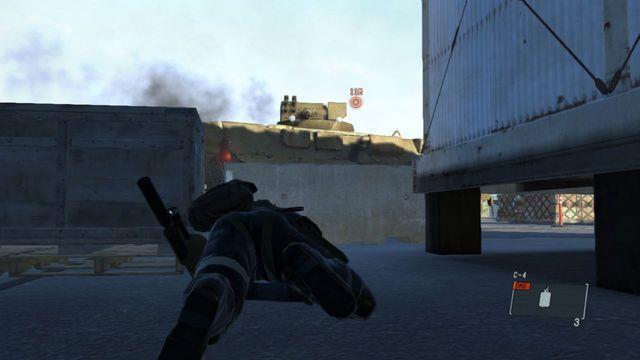Livrar-se do veículo blindado - Destrua os Emplacements Anti-Air - Ops laterais e Ops Extra - Metal Gear Solid: V Zeroes terra - Guia do Jogo e Passo a passo
