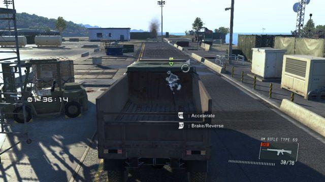 Você tem um determinado período de tempo para completar a tarefa - Destrua os Emplacements Anti-Air - Ops laterais e Ops Extra - Metal Gear Solid: V Zeroes Ground - Guia do Jogo e Passo a passo