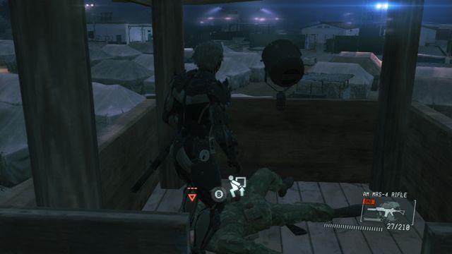 O guarda na torre - Jamais Vu - Ops laterais e Ops extra - Metal Gear Solid V: Zeros terra - Guia do Jogo e Passo a passo