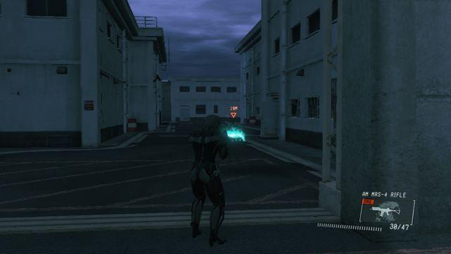 Assista a porta à sua esquerda quando atrás do portão - Jamais Vu - Ops laterais e Ops Extra - Metal Gear Solid: V Zeroes Ground - Guia do Jogo e Passo a passo
