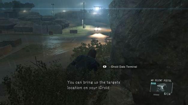 O inimigo não pode ver você escondendo no mato - Extraindo Chico - Passo a passo - Metal Gear Solid V: Zeros terra - Guia do Jogo e Passo a passo