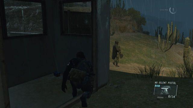 Livrar-se do próximo guarda - Extraindo Chico - Passo a passo - Metal Gear Solid V: Zeros terra - Guia do Jogo e Passo a passo