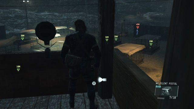Você pode usar a torre para localizar seus alvos - Extraindo Chico - Passo a passo - Metal Gear Solid: V Zeroes terra - Guia de jogo e passo a passo