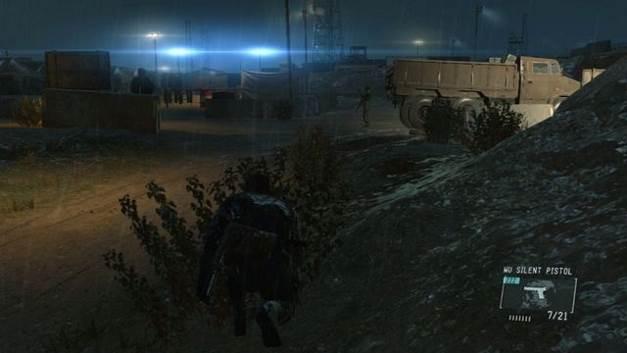 Você pode usar o caminhão para chegar à base - Extraindo Paz - Passo a passo - Metal Gear Solid V: Zeros terra - Guia do Jogo e Passo a passo