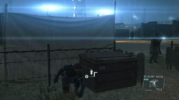 Evite visão dos inimigos e não deixar quaisquer corpos atrás de você - Extraindo Paz - Passo a passo - Metal Gear Solid V: Zeros terra - Guia do Jogo e Passo a passo