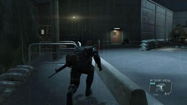 Passar por cima da cerca - Extraindo Paz - Passo a passo - Metal Gear Solid V: Zeros terra - Guia do Jogo e Passo a passo