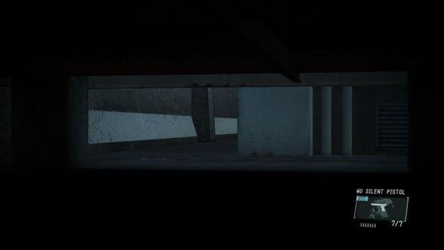 Esconder sob o armazém - Extraindo Paz - Passo a passo - Metal Gear Solid V: Zeros terra - Guia do Jogo e Passo a passo