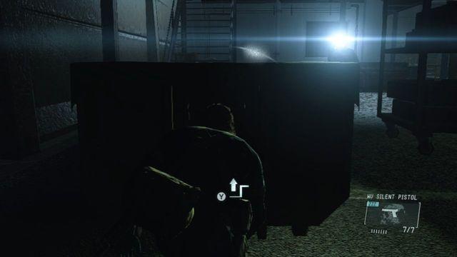 Vá atrás do edifício - Extraindo Paz - Passo a passo - Metal Gear Solid V: Zeros terra - Guia do Jogo e Passo a passo