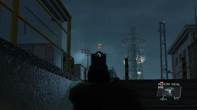 Lidar com o guarda que está no topo das escadas - Extraindo Paz - Passo a passo - Metal Gear Solid V: Zeros terra - Guia do Jogo e Passo a passo