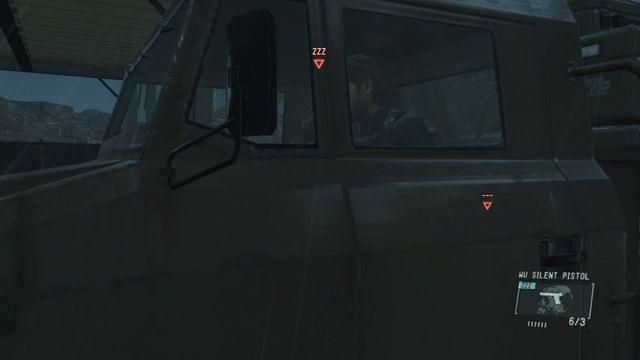 Use o caminhão para escapar - Extraindo Paz - Passo a passo - Metal Gear Solid V: Zeros terra - Guia do Jogo e Passo a passo