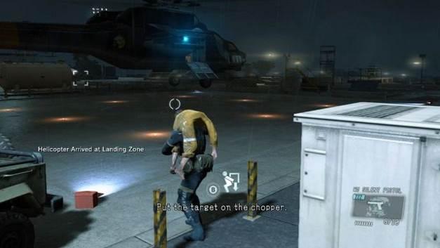 Escapando no helicóptero - Extraindo Paz - Passo a passo - Metal Gear Solid V: Zeros terra - Guia do Jogo e Passo a passo