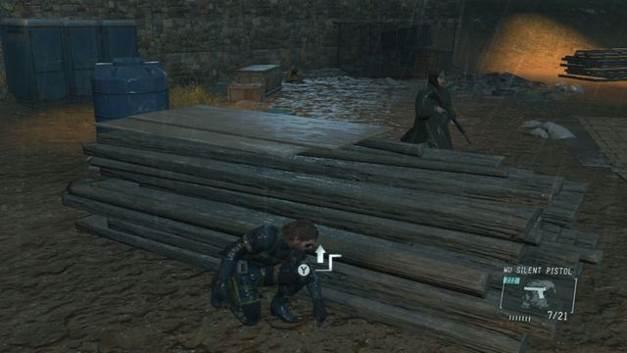 Você pode distrair o inimigo - Libertem os prisioneiros - Passo a passo - Metal Gear Solid V: Zeros terra - Guia do Jogo e Passo a passo